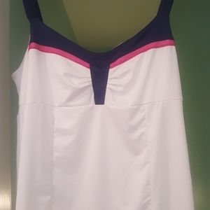 Lucky in Love XL Tennis tank top with built in Bra